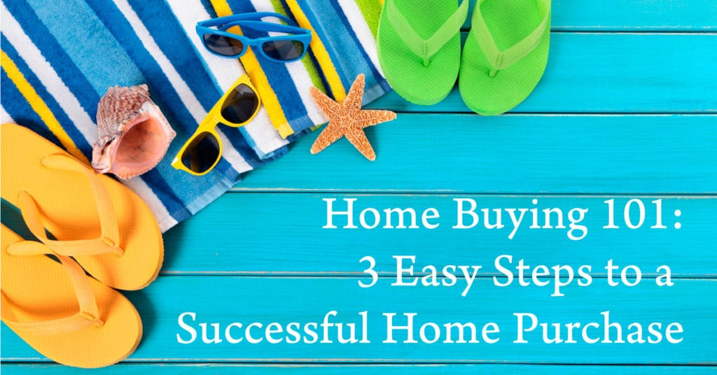 Home Buying 101: 3 Easy Steps to a Successful Home Purchase