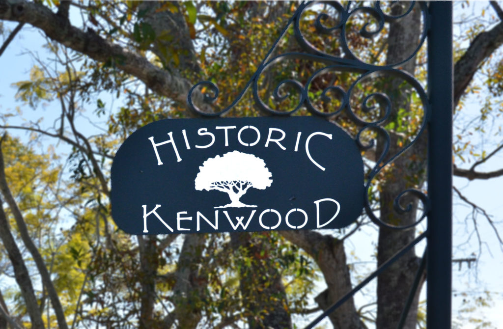 Historic Kenwood Sign