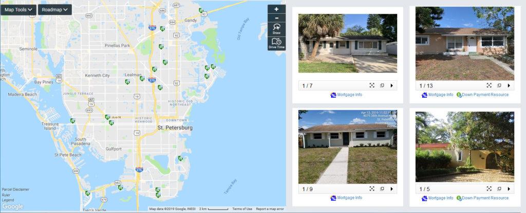 Foreclosures in St Petersburg FL